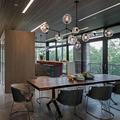 Vintage Loft Industrial Pendant Lights Black Gold Bar Stair Dining Room Glass Shade Retro Lindsey adelman