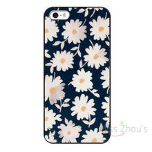 For iphone 4/4s 5/5s 5c SE 6/6s 7 plus ipod touch 4/5/6 back skins mobile cellphone cases cover Egg Flower