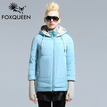 FOXQUEEN 2016 new fashion Spring warm big size women s jacket for female stylish plus size