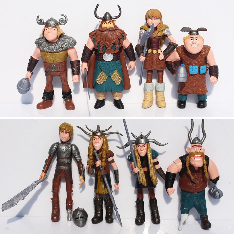 5 Sets/lot 8pcs/let How To Train Your Dragon Action Figure Toys Dolls Gifts For Children Christmas Gifts Free Shipping<br><br>Aliexpress
