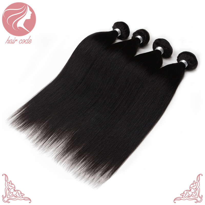 Vip Beauty Hair Virgin Peruvian Hair Silky Straight 4 Bundles Lot 100 Human Hair Weave Brands Free dhl Delivery Paypal Accepted(China (Mainland))