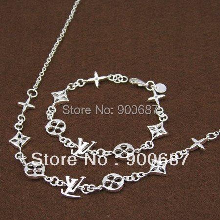 Fashion Silver Wedding Jewelry Set Women Classic Brand New Beautiful Gift - Evan Store store