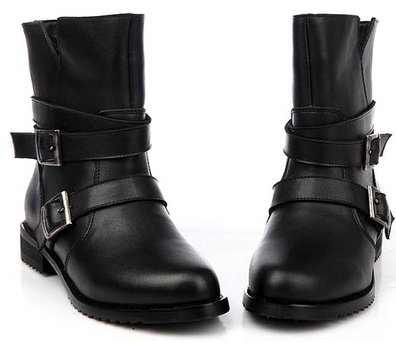 Short Black Boots For Women - Cr Boot