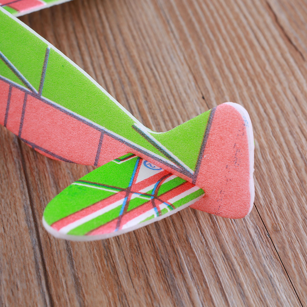 3D Helicopter G3 Foam Airplanes Sky Raider Glider Flying Little one Kids Youngsters Toy