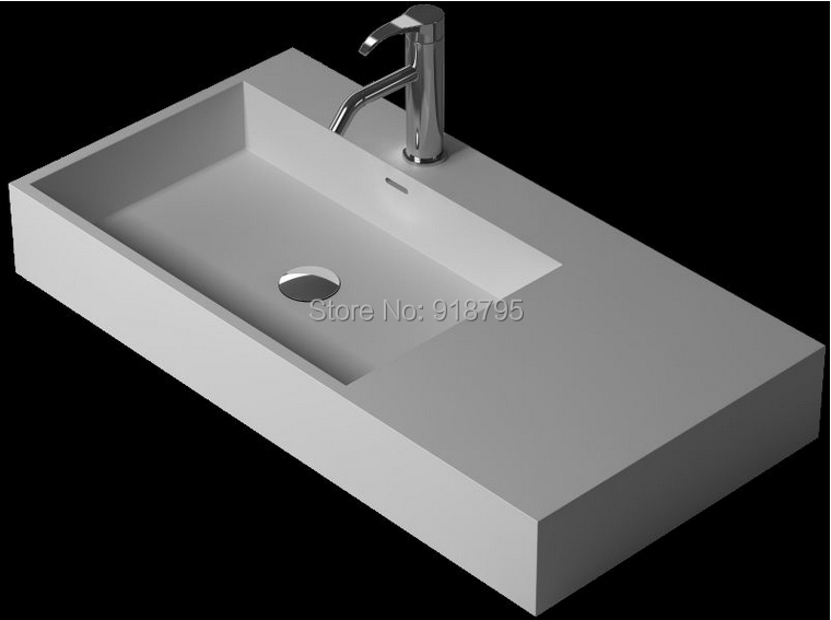 Laundry Basin Sink : wash basin artificial stone Laundry sink RS38346-in Bathroom Sinks ...