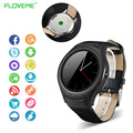 Luxury Brand Smart Watch IPS Dual Core Sync Bluetooth Wifi GPS Pedometer Heart Monitor For iPhone