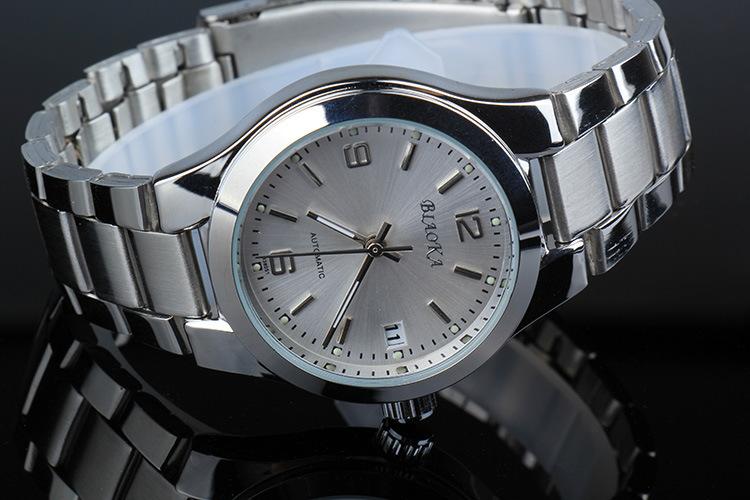2016 Luxury Brand BIAOKA Мужские Механические Часы Мода Повседневная Мужчины Спортивные Водонепроницаемые Часы Стали Золото Скелет Наручные Часы