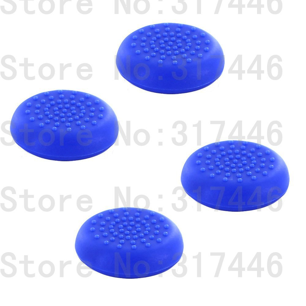 4pieces lot Controller Analog Grips Thumbstick Cover For Sony Playstation 4 PS4 Controller 5 Colors