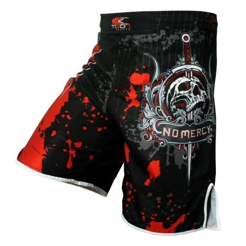 Men's skeleton skull cool printing head wrestling pants muay thai boxing shorts boxing shorts cheap mma shorts muay thai boxing(China (Mainland))