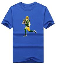 2017 Men T Shirt Jordy Nelson Anime Trump Tshirt Tshirts Tees Jersey T-Shirt Funny Clothing Mens T Shirts Fashion 2016(China (Mainland))