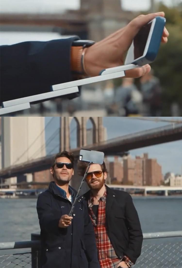 2016 New Brand Stikbox 3 in 1 Aluminum Selfie Stick Case for Iphone6 6s 6plus Phone Holder Back Cover Coque a Fundas Para Celuar