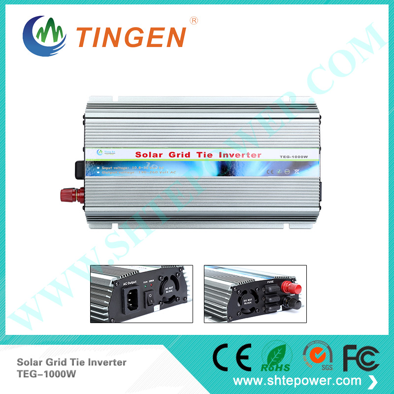 DC 12v 24v to AC 220v 230v 240v converter 1kw, hot sale 1000w solar grid tie inverter(China (Mainland))