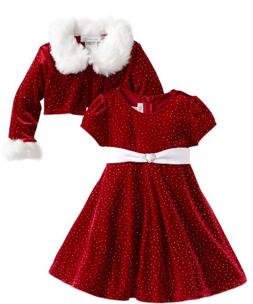 Christmas money kids clothes coat for girl christmas dress elsa dress