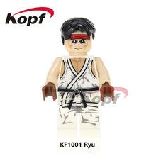 Única Venda Super Heróis Blocos de Construção KF8008 Ryu Zangief Dhalsim Honda Terminator Deadpool KF1001 Tijolos Brinquedos para as crianças(China)
