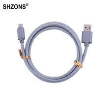Buy 1m Type-C USB Charging Cable USB 2.0 Snyc Data Fast Charger Cable Nokia N1,Xiaomi 4C,Nexus 5X,6P,OnePlus 2,ZUK Z1,MX5 Pro for $1.19 in AliExpress store