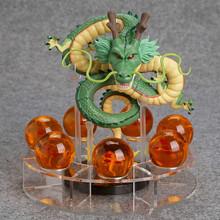Anime Dragon Ball Z Shenron 1 dragon +7 crystal balls PVC Action Figure Collectible Model Toy DBFG240