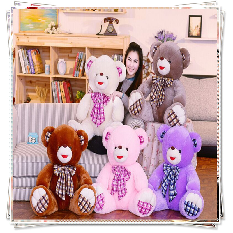 Giant teddy bear minions pokemon plush teddy bear kawaii plush big teddy bear spongebob ty plush animals valentine day gifts(China (Mainland))