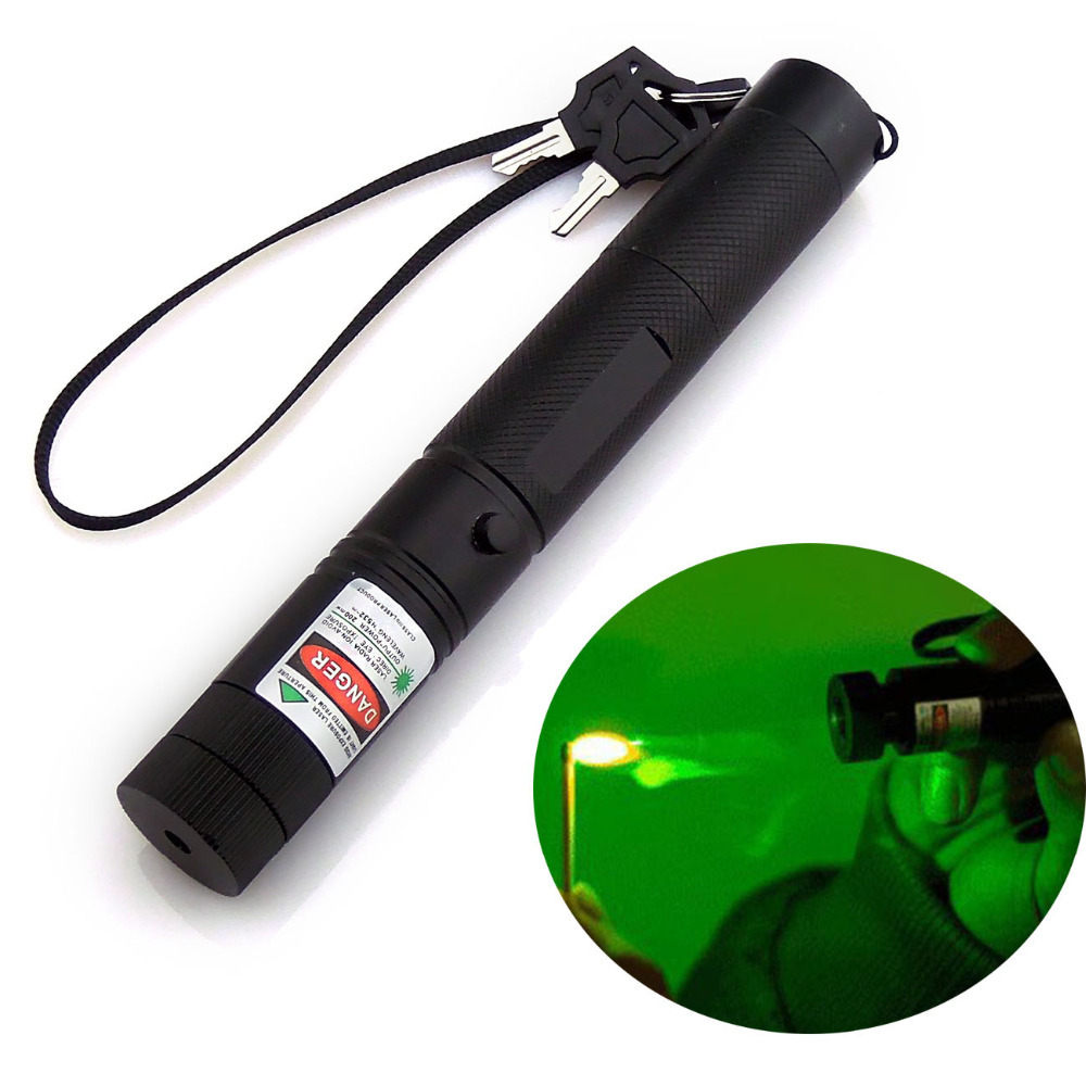 Hot Sales High Power Laser Pointer Burning SD 303 2000 mw 532nm Powerful Green Pop Balloon Astronomy Lazer Pens(China (Mainland))