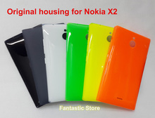 Original Back Cover for Nokia X2,Genuine Housing, Battery Cover case for Nokia X2, with side button(China (Mainland))