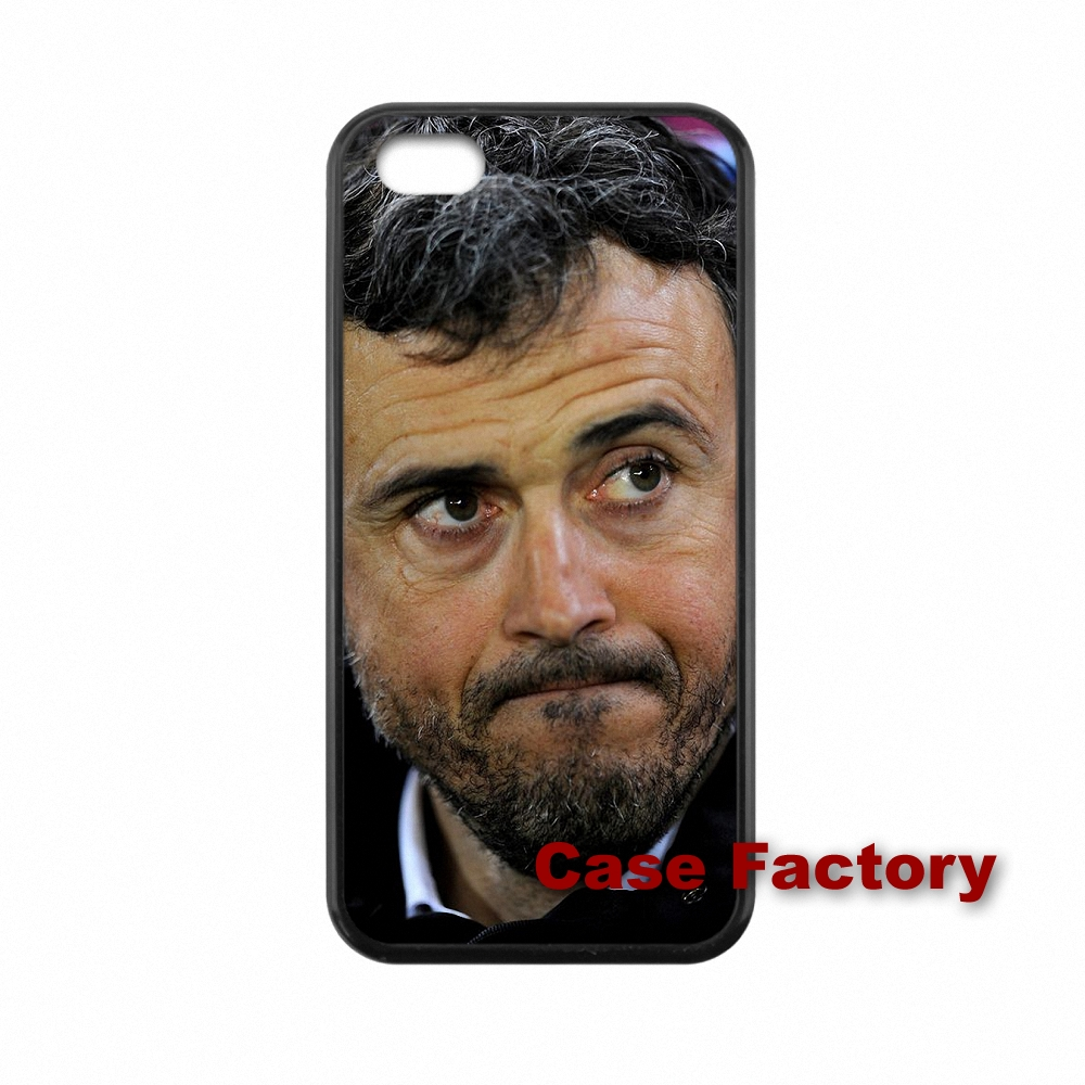 New TPU Soccer Coach Luis Enrique For HTC One M8 M9 Mini M4 Desire 816 iPhone 4 4S 5 5S 5C 6 6S Plus SE iPod Touch 4 5 6(China (Mainland))