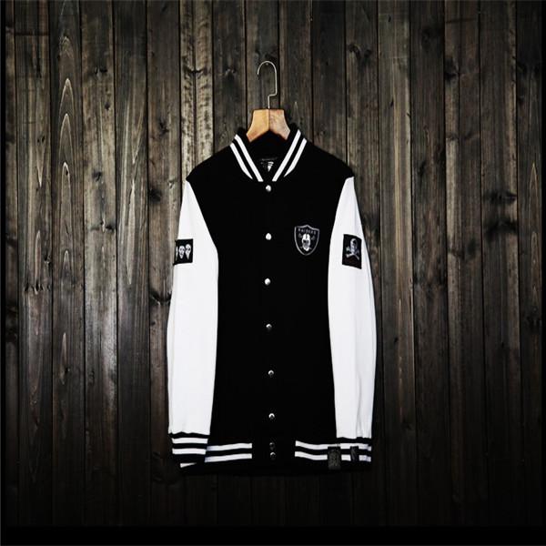 fashion Mastermind Japan 2014 new fall winter jackets baseball uniform MMJ skull fleece cardigan sweater coat jacket - 2W&2H store