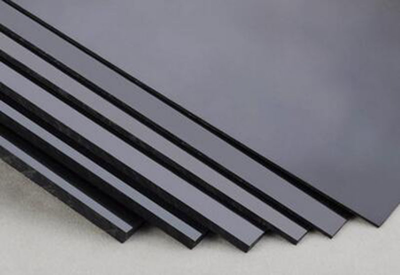 2pcs 3mm * 200mm * 250mm Black ABS Styrene Plastic Plate Sheet Model Layout Making Material #A275d(China (Mainland))