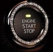 Dad car key ring car diamond decoration ring car sticker