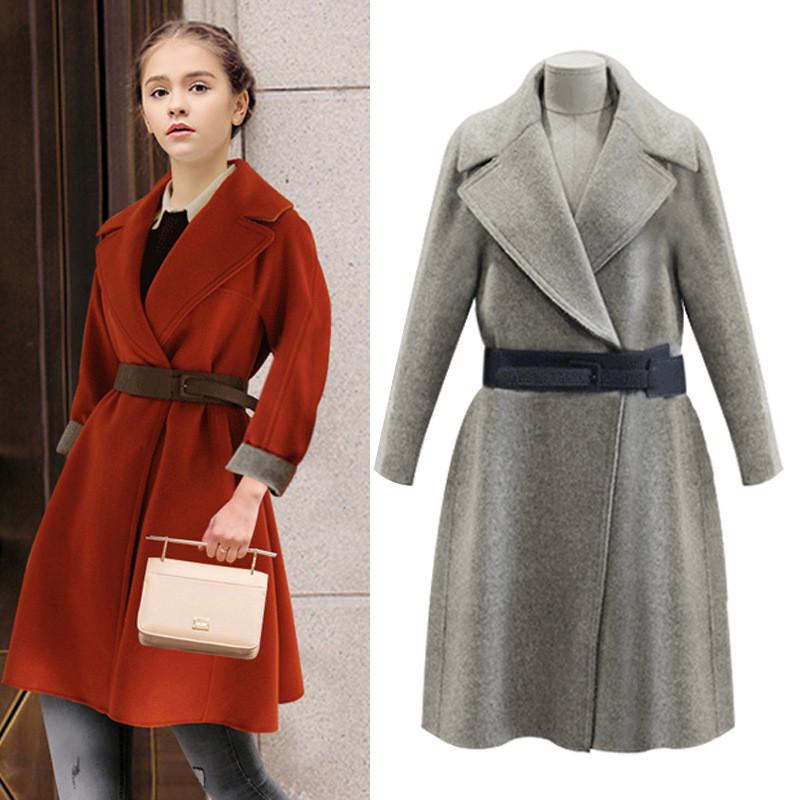 Women S Full Length Winter Coats Wool - Tradingbasis