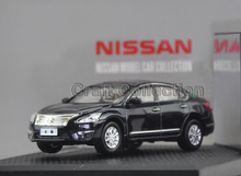 1/43 2013 Black Nissan Teana 250XL ALTIMA Mini Alloy Toy Cars Diecast Simulation Model Car Kits  Made by Kyosho