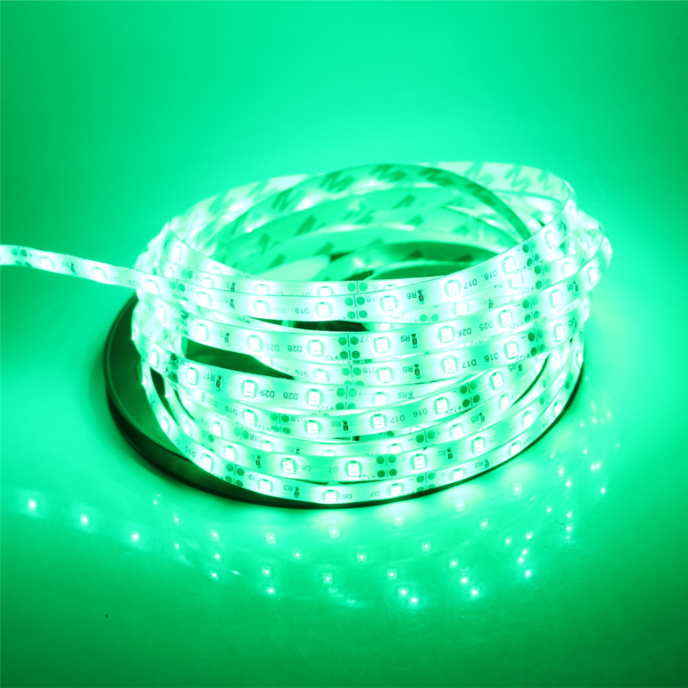 New Arrival 3528SMD 1m 5m 12V RGB LED Strip Waterproof / Non-waterproof 60leds/m Flexible Tape lamp More Brighter than 5050 5630(China (Mainland))