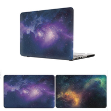 Purple Star Hard Laptop Bag Case for Apple Macbook Air Pro Retina 11 12 13 15 Laptop Bag for Mac book Air 13 Cover Case Shell