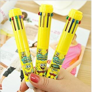 Spongebob squarepants 10 color pen
