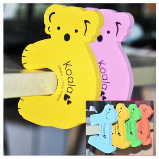 3PCS Cute Door Jammer Finger Corner Guard Child Kids Baby Infant Safety Protector Stopper Koala Aminal Door Guard Baby Product(China (Mainland))