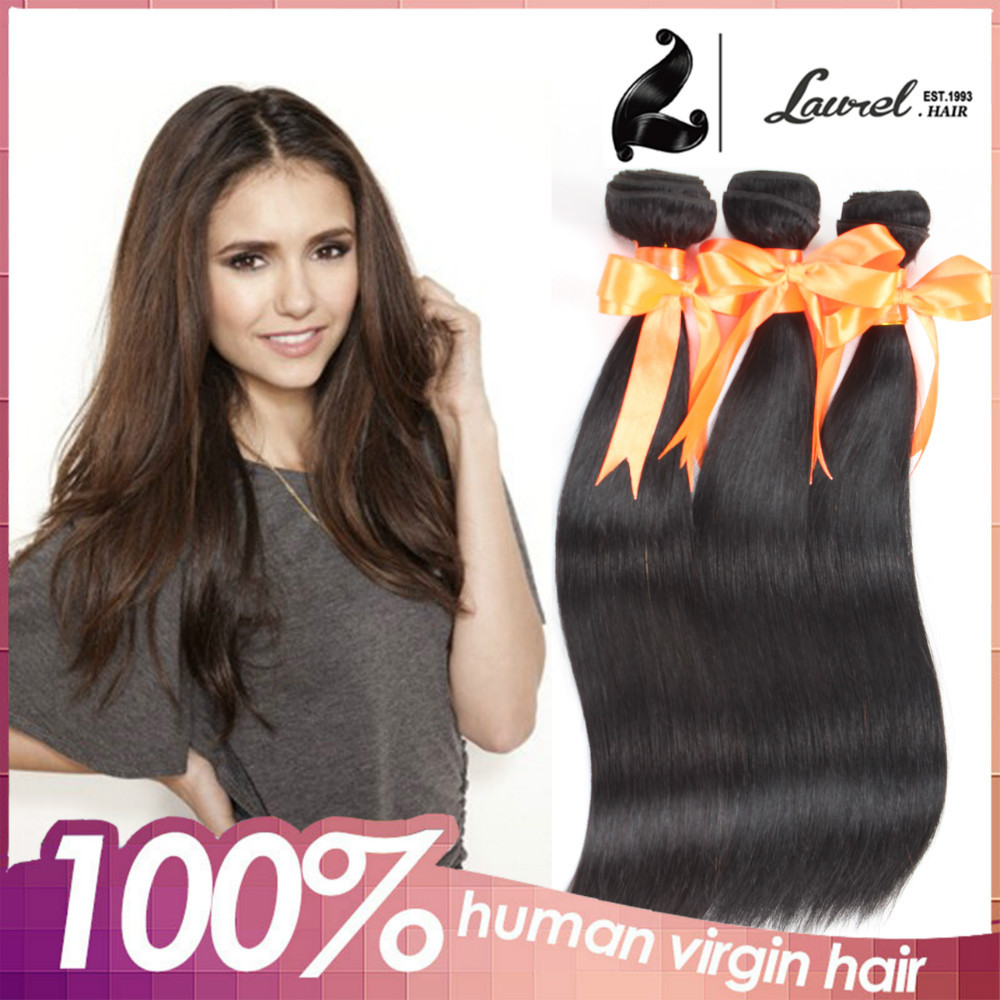 The most fashionable Brazilian 7A virgin hair 4pcs/lot, High quality straight hair boundles Brazilian weaves and wavy human hair<br><br>Aliexpress