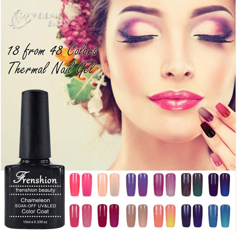 1Pcs High Quality Uv Gel Color Nail Polish Color Nail Polish Hot Resin Component Women Thermal Nail Polish Trends