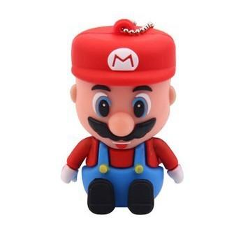 Super Cartoon Mario USB 2.0 Flash Memory Stick Pen Drive 4GB 8GB 16GB 32GB