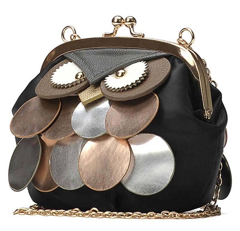 2015 Summer New Korean Mini-Chain Women Wallet Fashion Women Shoulder Bags Owl Diagonal Package Women Messenger Bag(China (Mainland))