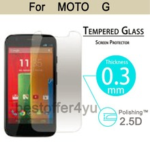 Premium 0.3mm 9H 2.5D Tempered protector Glass Film For Moto G 4.5″ phone Anti-shatter Lcd Screen Protective film