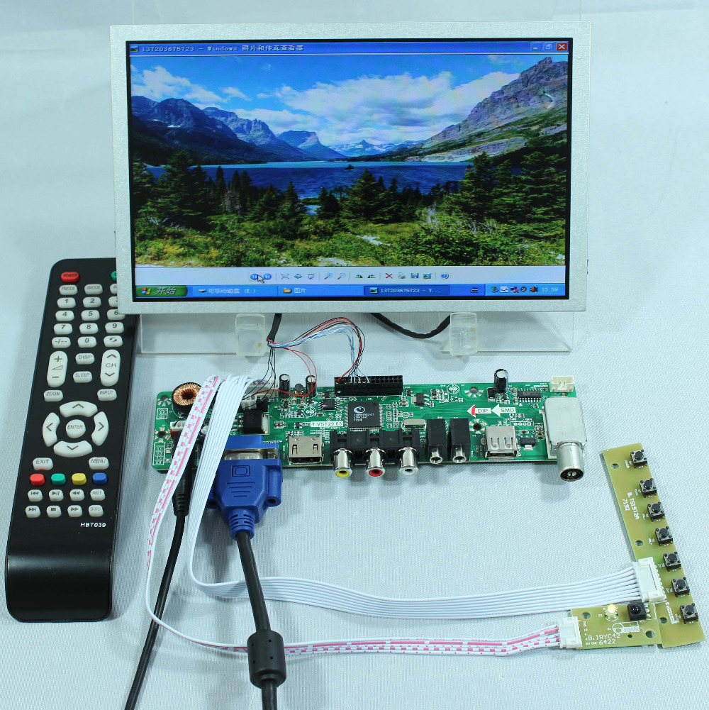 Aliexpress.com : Buy TV PC HDMI CVBS RF USB AUDIO LCD ...