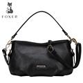 Foxer Brand 2016 new Fashion Women Genuine leather Handbag Female Small Shoulder Crossbody Messenger three use