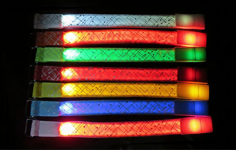 popular flashing led lights for runners buy cheap flashing led lights for run. Black Bedroom Furniture Sets. Home Design Ideas