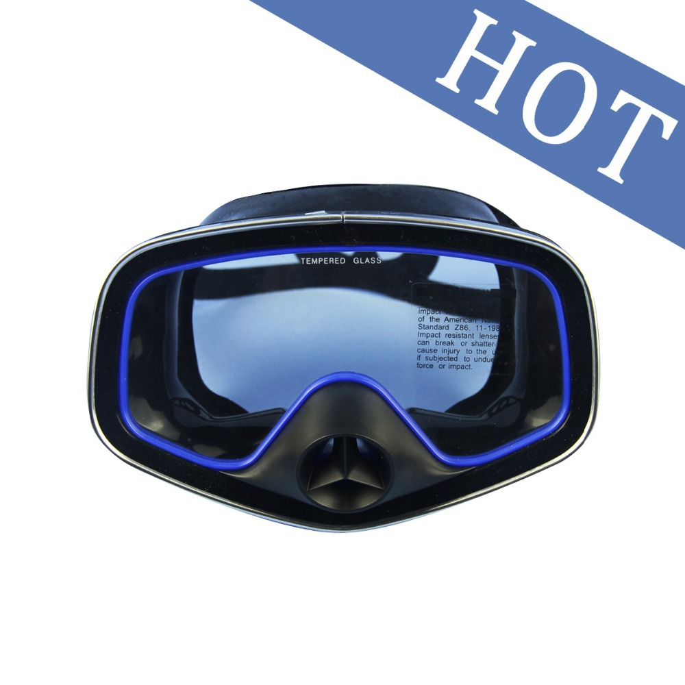 Snorkelling Scuba Diving Mask Glasses Underwater full face diving mask goggles M-246(China (Mainland))