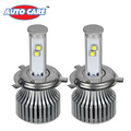 Auto Care Aluminum 2PCS H4 LED Car Headlight High Low Beam 120W Set 9600LM Set White
