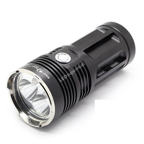 Sky Ray King 3T6 Flashlight 3*CREE T6 LED 3 Mode 2000 Lumen High Power Torch Camping Hiking - Exalt International Trade Co.,LTO store
