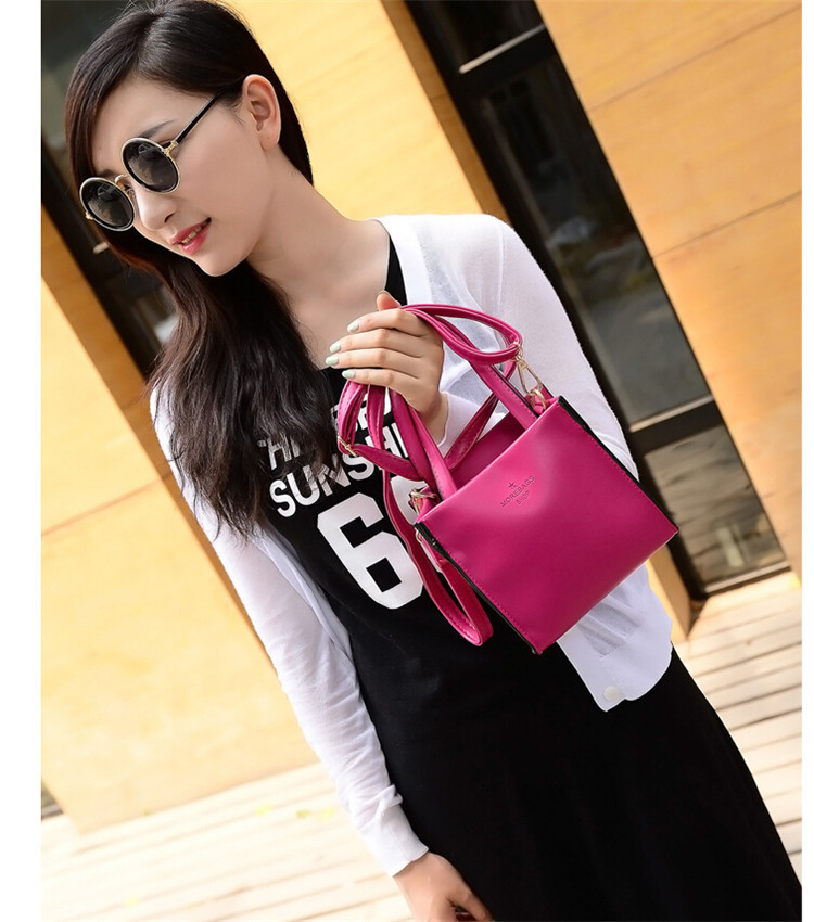 2015 New style high quality best selling leather handbag leather handbag messeger high quality and best price SX-106(China (Mainland))