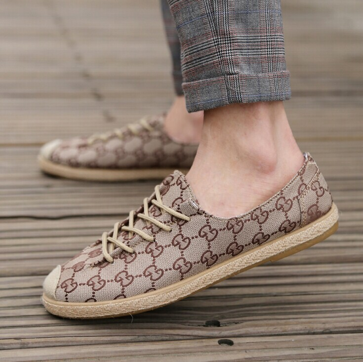 2014 new fashion men's canvas shoes,lazy shoes,breathable shoes,Flats men Shoes - Online Store 923589 store