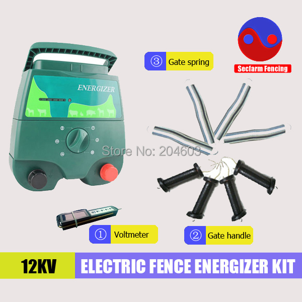 High quality animal electric fence energiser,solar fence charger for livestock(China (Mainland))