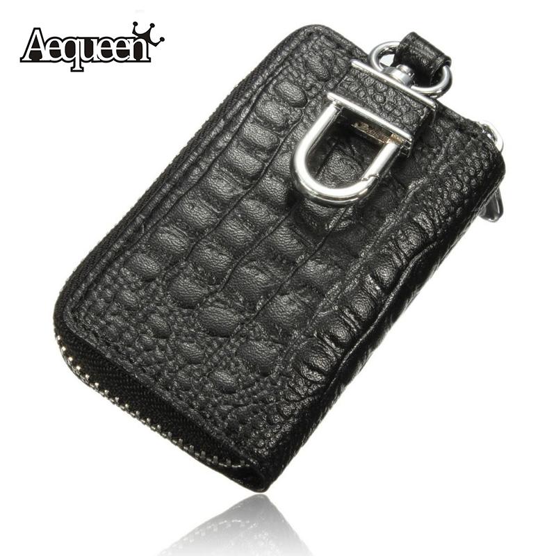 Fashion Car Key Wallets Women Men Faux Leather Keychain Holder Bag Keys Purse Case High Quality 4 Colors Bump Texture Portable(China (Mainland))