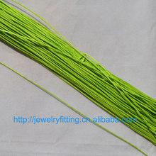 Joyería DIY accesorios para manualidades de alambre venta al por mayor 10M encerado algodón cordón cuerda 1mm pulsera y collar encontrar 27 colores(China)