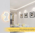 Wall Light Modern Lovely Cat Wall Lamp Kitten Light Lamp Led Fixture For Living Room Foyer